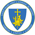 logo for St. Margaret Catholic Academy in Middle Village, Queens